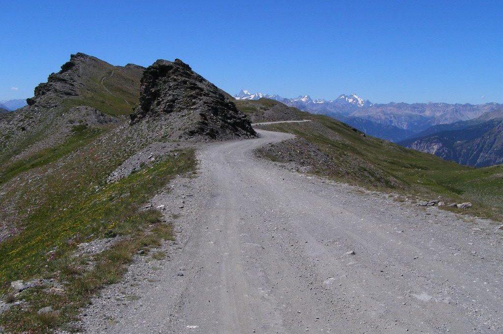 Assietta bikepacking trail